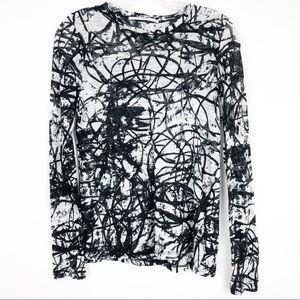 Proenza Schouler Abstract Graphic Tee Medium